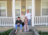The Greene family and their Buena Vista, Va. home